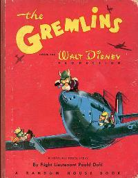Knížka o gremlinech od Roalda Dahla. Kredit: Originally Walt Disney
