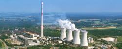 Kdy Česká republika opustí uhlí, je stále otevřená otázka. Uhelná elektrárna Počerady (zdroj ČEZ).