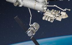 Jupiter a Exoliner u modulu Kibó.   Zdroj: http://i.space.com/