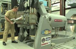 Railgun. Kredit: US Navy, BAE Systems.