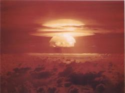 Castle Bravo, 1. 3. 1954. Kredit: US Department of Energy.