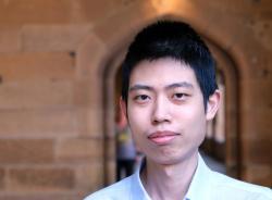 Ziteng Wang. Kredit: University of Sydney.