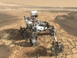Mars 2020 vakci. Kredit: NASA/JPL-Caltech.
