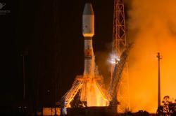Start Sojuzu-Fregat s družicí CHEOPS (zdroj ESA/CNES/ARIENESPACE).