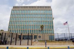 Americká ambasáda vHavaně. Kredit: U. S. Department of State.