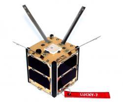 Družice Lucky-7 (zdroj SkyFox Labs).