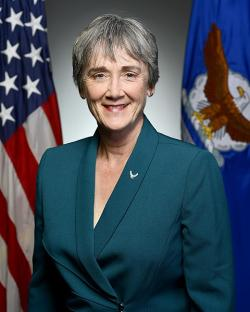 Heather Wilson, 24th Secretary of the United States Air Force. Kredit: USAF.