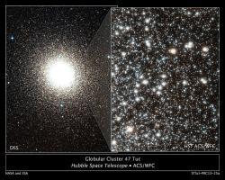 Svět plný hvězd. Kredit: NASA, ESA, Hubble Space Telescope.