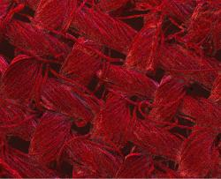 Červeně jsou zobrazeny nanočástice stříbra. Kredit: RMIT University.