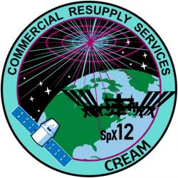 Logo mise SpaceX CRS-12.