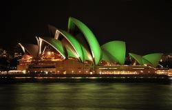 Opera vpřístavu města Sydney super, místní voda nic moc. Kredit: Mike Young / Wikimedia Commons.
