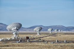 Karl G. JanskyVery Large Array, Nové Mexiko. Kredit: John Fowler / Wikimedia Commons.