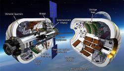 Průřez modulem BA 330. Zdroj: http://spaceflightnow.com/