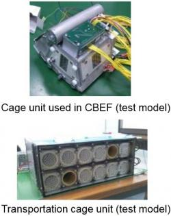 Transportní a obytná část experimentu. Zdroj: spaceflight101.com