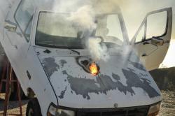 Laser ATHENA propálí kapotu a zničí motor auta na kilometr daleko. Bohužel to trvá asi deset sekund. Foto: Lockheed Martin