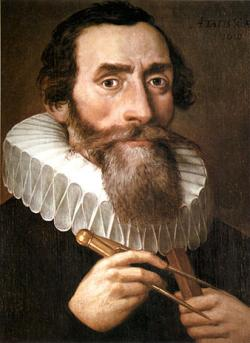 Johannes Kepler (1571 - 1630). Německý matematik a astronom působil také v Praze na dvoře císaře Rudolfa II., kde formuloval dva ze svých zákonů. Byl nejspíš prvním, kdo  zpochybnil betlémskou hvězdu. Shodou okolností byl v Praze když  o vánocích roku 1603 byl svědkem konjunkce Jupiteru a Saturnu. Tehdy ho napadlo, že by právě taková konjunkce mohla být považována za betlémskou hvězdu.