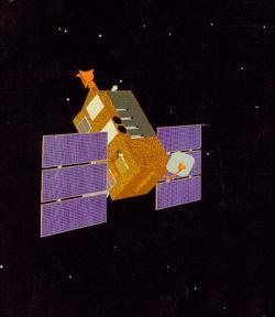 Rentgenový vesmírný teleskop. Kredit: NASA.