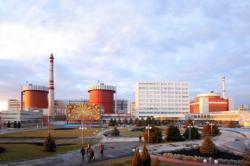 Jihoukrajinská jaderná elektrárna (zdroj Energoatom).