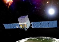 Gama teleskop Fermi. Kredit: NASA.