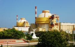 První dva bloky VVER1000 jaderné elektrárny Kudankulam (zdroj Wikipedia, Reetesh Chaurasia).