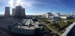 Jaderná elektrárna Temelín (zdroj ČEZ).
