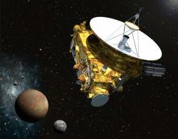 Sonda New Horizons. Kredit: NASA / JHUAPL / SwRI.