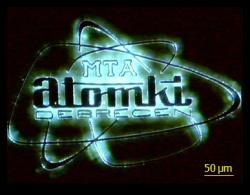 Atomki, logo.