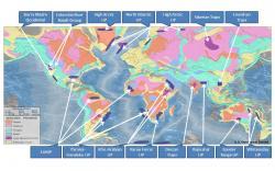 Dekkánské trapy nejsou jedinou známou obří vulkanickou platformou. Například severněji ležící Sibiřské trapy zabírají rozlohu ještě podstatně větší a pravděpodobně mají přímou souvislost s největším známým vymíráním v dějinách života na Zemi. To se odehrálo před 252 miliony let na přelomu permu a triasu. Kredit: Williamborg/USGS, Wikipedie, CC BY-SA 3.0