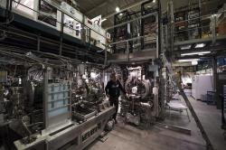Pohled do experimentu ALPHA. Kredit: CERN.