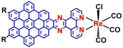 Nanografen satomem rhenia. Kredit: Indiana University.