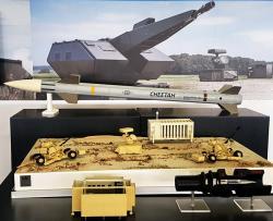Systém Cheetah. Kredit: Rheinmetall.