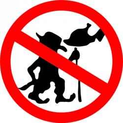 Nekrmte trolly. Pokud nejste arguebot, co si dává trolly kvečeři. Kredit: Sam Fentress / Wikimedia Commons.