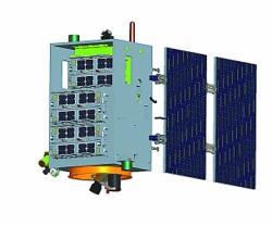 Družice XPNAV 1 má sestavit katalog pulsarů vhodných pro navigaci a určit jejich parametry. (Zdroj CAS).