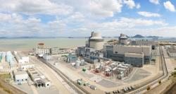Elektrárna San-men se dvěma bloky AP1000 (zdroj SNPTC)