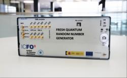 Rekordně rychlý kvantový generátor náhodných čísel. Kredit: IFCO.
