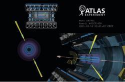 Rozptyl světla světlem vdetektoru ATLAS. Kredit: ATLAS / CERN.