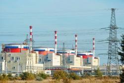 Jaderná elektrárna Rostov obsahuje nyní čtyři reaktory VVER-1000 (zdroj Rosatom).