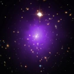 Jaký bude osud vesmíru stemnou energií? Kredit: X-ray: NASA/CXC/Univ. of Alabama/A. Morandi et al; Optical: SDSS, NASA/STScI.