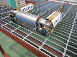 Nový robot, který se připravuje pro výzkum nitra kontejnmentu prvního bloku (TEPCO).