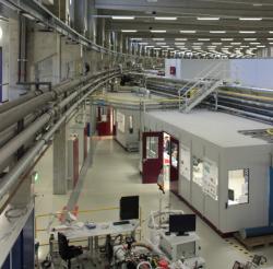 Laboratoře DESY, Hamburk. Kredit: Uvainio / Wikimedia Commons.