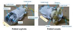 Pohled na robota a jeho jednotlivé části (zdroj IRID).