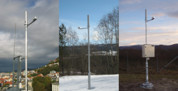 Examples of some dosimetry devices in the Norwegian network (DSA source).