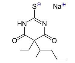 Thiopental  (Kredit: NEUROtiker. Licence CC BY-SA 3.0)