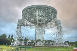 Lovell Telescope. Kredit: Mike Peel; Jodrell Bank Centre for Astrophysics, University of Manchester.