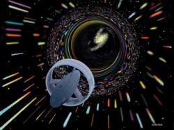 Dojde někdy na průlet červí dírou? Kredit: NASA.