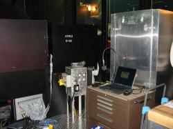Zařízení NIRC2 na teleskopu Keck II. Kredit: W. M. Keck Observatory.