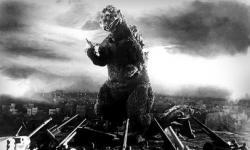 První Godzilla zroku 1954. Kredit: DatBot / Wikimedia Commons.
