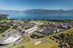 Ecole Polytechnique Fédérale de Lausanne. Kredit: Mediacom EPFL