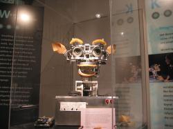 Robot Kismet by byl skvělý premiér. Kredit: Polimerek / Wikimedia Commons.