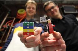LEGO vexperimentu. Kredit: Lancaster University.